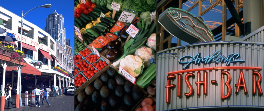 Der Pike Place Market ist bei Einheimischen sowie Touristen gleichermaßen beliebt_Copyright Tim Thompson