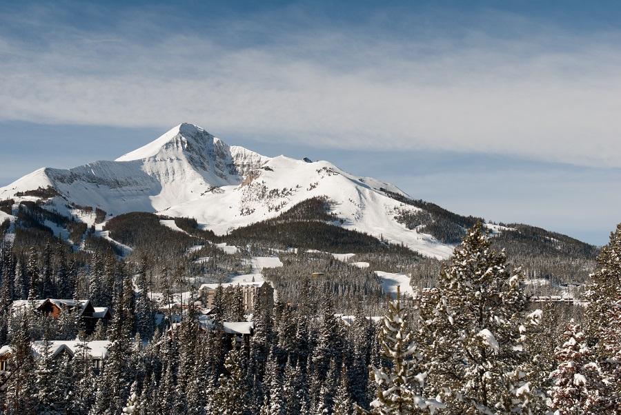 Nein das ist nicht das Matterhorn, sondern der Lone Peak Mountain im Bundestaat Montana. © Visit Montana